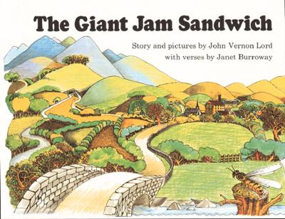 The Giant Jam Sandwich By Lord, John Vernon